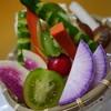 酒楽遊食房 あがれ家 - 料理写真:朝採れ野菜のざる盛り