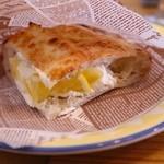 ピッツェリア ジターリア ダ フィリッポ - レモンクリームと2種のチーズのドルチェピッツァ