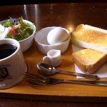 コーヒーハウス葡瑠満 - 葡瑠満モーニングAセット480円