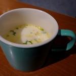 カルボナーラ - 日替わりスープ