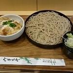 源太郎そば - ミニヒレカツ丼セット 620円