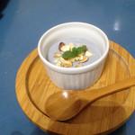 麦cafe - ランチデザートの豆乳麻炭ヨーグルト
