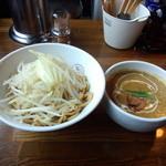 らぁめん大山 - 2014.5.10 チキンバターカレーつけ麺