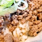 ヱビスヤ - 肉そぼろご飯「あっぷ図」