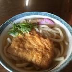 水田食堂 - 料理写真:きつねうどん