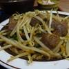 食堂ふじむら - 料理写真:レバニラ