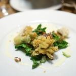 チニャーレエノテカ - 蕗の薹のフリット