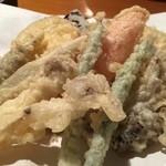 麦家 - 天ぷら盛り合わせ