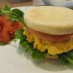 ALETTA - 料理写真:「トースト(イングリッシュマフィン)サンドモーニング」アップ