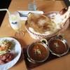 キッチンキング - 料理写真:Cランチセット¥849 & タンドリーチキン¥150