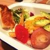 ワイアードカフェ - 料理写真:ハンバーグコンボ ¥1350 ドリンク付き