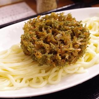 うどん sugita - 料理写真:5色揚げつけうどん