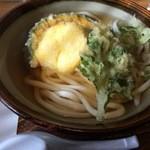 うどん 太三郎 - 野菜天うどん