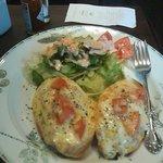 ぽえむ - ツナとトマトのオーブンサンド