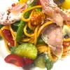 Ristorante Moderato - 料理写真:彩り野菜のペペロンチーノ生ハム添え