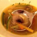 34758503 - 魚介のスープ