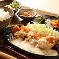 「古処鶏チキン南蛮定食」