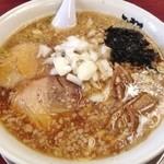 がっつり食堂ドカメン - 中華そば(魂)(700円)