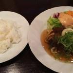 芭亜愚亭 - 和風ハンバーグランチ800円