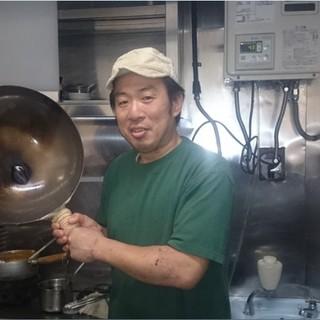 こだわりのラーメン職人、竹川幸一!