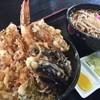 生蕎麦 日高 - 料理写真:天丼セット
