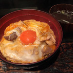 恵比寿 鶏味座 - 【ランチ】究極の親子丼!東京軍鶏の炭焼き親子丼(1,080円)