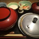 赤坂 ざんまい - 親子丼2015.2撮影