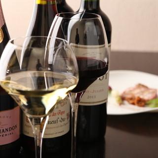 ソムリエ厳選のワイン