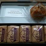 お菓子の家 鎌倉小川軒 - レーズンクッキーとシュークリーム