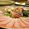 魚旬 - 料理写真:季節の魚でしゃぶしゃぶ