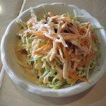 ラジェスタリー - セットのサラダ