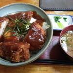 竹乃家 - カツ丼 生