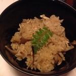 祇園割烹新山  - 松茸ご飯