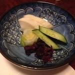 祇園割烹新山  - お漬物
