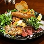 カルネリーナ - 温かいお肉の前菜盛り合わせ(3,500円)
