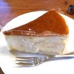ジロー珈琲 - スフレチーズケーキ