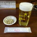 居酒屋 勇 - 生ビール:300円、お通し:300円