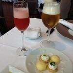 ラ・フェット ひらまつ - ビールとカクテルで乾杯♫