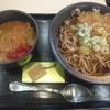 ゆで太郎 - 料理写真:朝カレーセット350円