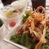 カフェ クウネル - 料理写真:お肉の日替わりランチ(ドリンク付)\1,000