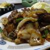 かまどや食堂 - 料理写真:ニラレバ炒