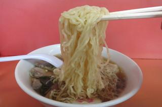 わだラーメン - 麺