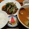 賓館 - 料理写真:ニラとレバーの炒め(ライス付)