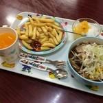台湾料理 嘉宴楼 - (20150112)子供定食 B定食(480円)
