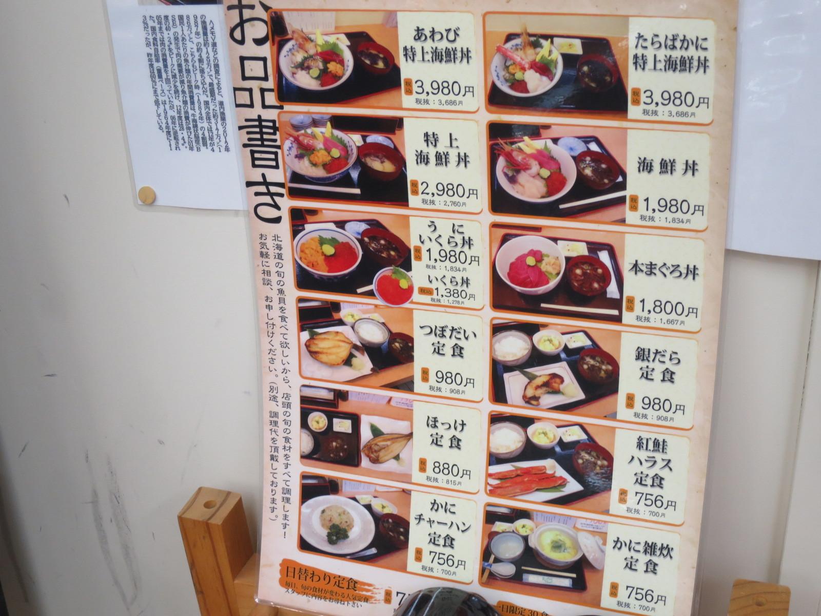 共栄水産市場食堂