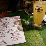 レガレガ - 自家製サングリア&白ワイン