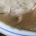 ラーメン げんこつ家 - スープ拡大