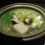 琴平花壇 - しゃぶしゃぶ鍋