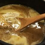 真道 - 松阪豚つけ麺のつけ汁