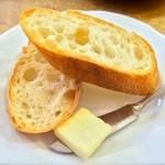 イタリア料理 ボン・パスト - セットのパンはアーブルさんのバゲット!(2015.02)